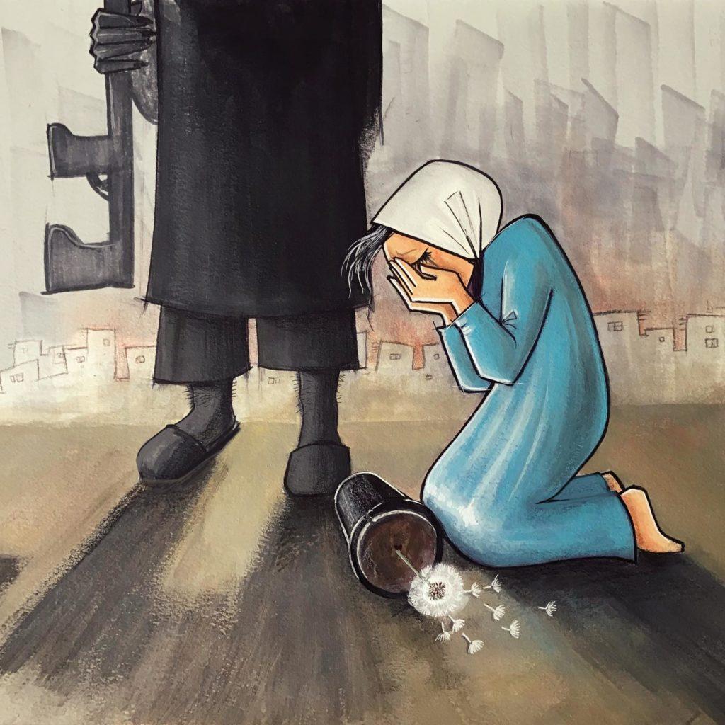 Shamsia : The Resilient Afghan Graffiti Woman